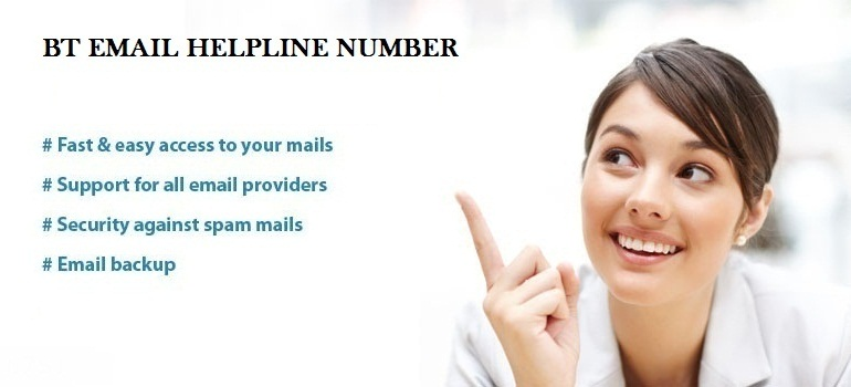 BT Email Helpline Number